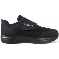 Zapatos Hombre Zapatillas bajas Luisetti Zapatos  31104 Negro Negro