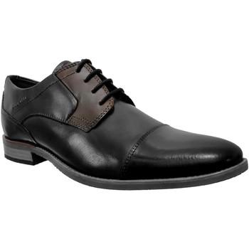 Zapatos Hombre Derbie Bugatti Luano 312-16411 Azul marino/gris