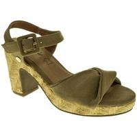 Zapatos Mujer Sandalias Isteria 9034 Beige