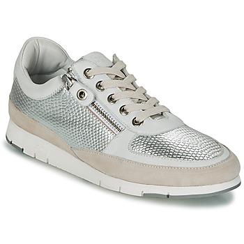 Zapatos Mujer Zapatillas bajas TBS CAVANNA Plateado / Beige