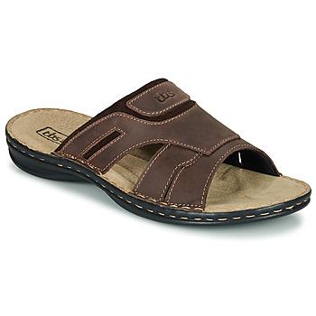 Zapatos Hombre Zuecos (Mules) TBS BELTONN Marrón