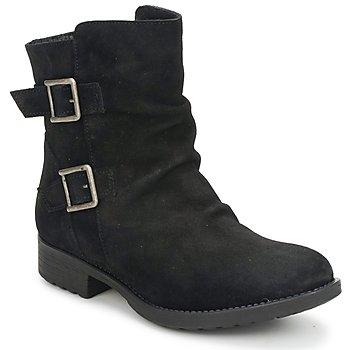 Zapatos Mujer Botas de caña baja Casual Attitude RIJONES Negro