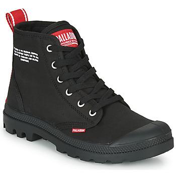 Zapatos Botas de caña baja Palladium PAMPA HI DU C Negro
