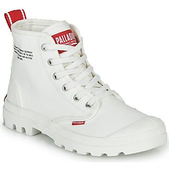 Zapatos Botas de caña baja Palladium PAMPA HI DU C Blanco