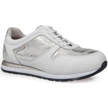 Zapatos Mujer Zapatillas bajas Calzamedi DEPORTIVAS  LEOPARD W PLATA