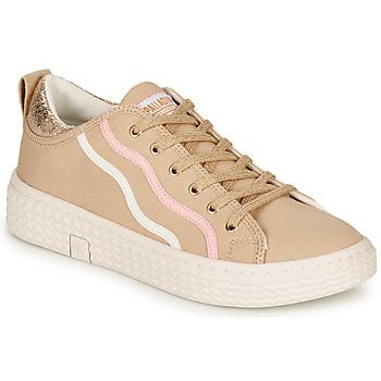 Zapatos Mujer Zapatillas bajas Palladium TEMPO 02 CVS Beige
