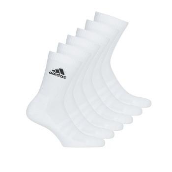 Accesorios Calcetines adidas Performance CUSH CRW 6PP Blanco