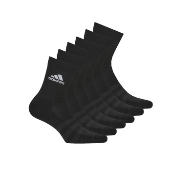 Accesorios Calcetines de deporte adidas Performance CUSH CRW 6PP Negro