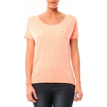 textil Mujer Camisetas manga corta By La Vitrine Tee shirt S13090 Corail Naranja