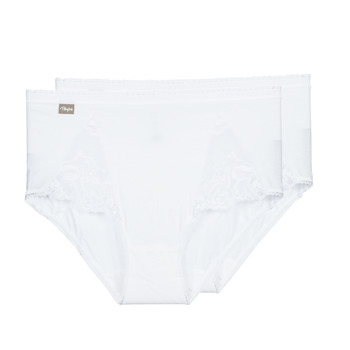 Ropa interior Mujer Culote y bragas PLAYTEX COTTON STRETCH Blanco