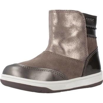 Zapatos Niña Botas de caña baja Geox B NEW FLICK GIRL Marron