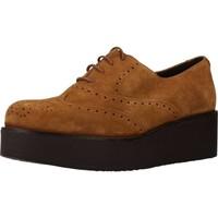 Zapatos Mujer Richelieu Clover 7580C Marron