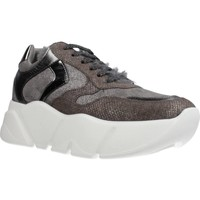 Zapatos Mujer Zapatillas bajas Voile Blanche M0NSTER Gris