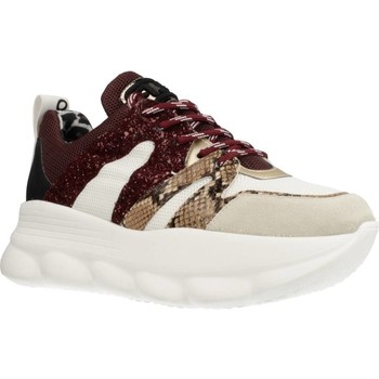 Zapatos Mujer Zapatillas bajas Meline OP402 Rojo
