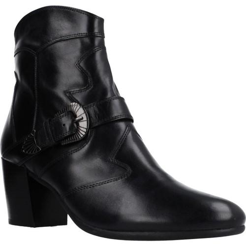 Zapatos Mujer Botines Geox D NEW LUCINDA Negro