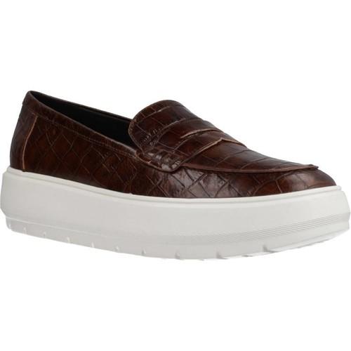 Zapatos Mujer Mocasín Geox D KAULA Marron