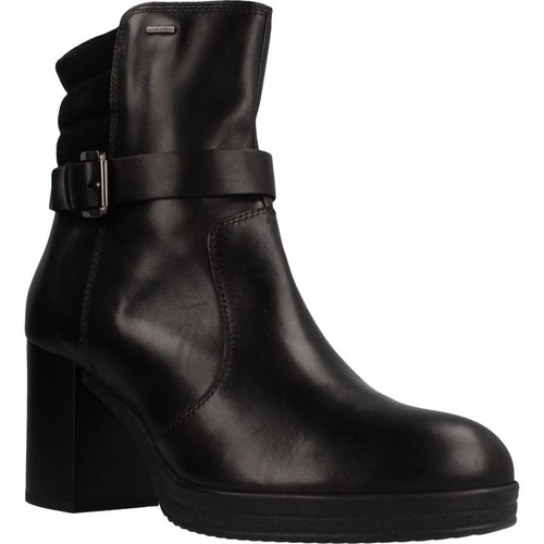 Zapatos Mujer Botines Geox D REMIGIA NP ABX Negro