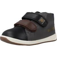 Zapatos Niño Zapatillas altas Garvalin 191313 Negro
