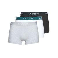Ropa interior Hombre Boxer Lacoste 5H3389-NUA Negro / Blanco / Gris