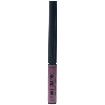 Belleza Mujer Pintalabios Rimmel London Lip Art Graphic Liner&liquid Lipstick 220-vandal 5 ml