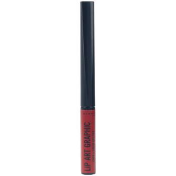 Belleza Mujer Pintalabios Rimmel London Lip Art Graphic Liner&liquid Lipstick 550-cuff Me 5 ml