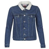 textil Mujer chaquetas denim Moony Mood LOTITO Azul / Medium