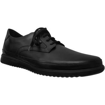 Zapatos Hombre Derbie Mephisto Tedy Cuero negro