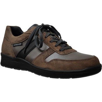 Zapatos Hombre Zapatillas bajas Mephisto Vito Cuero marrón/gris
