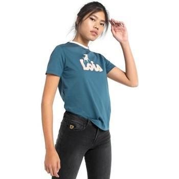 textil Mujer Camisetas manga corta Lois camiseta toro 420212045 Azul