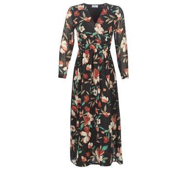 textil Mujer Vestidos largos Betty London NOISETTE Negro / Multicolor