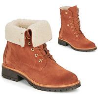 Zapatos Mujer Botas de caña baja André BALADE Naranja