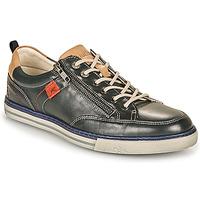 Zapatos Hombre Zapatillas bajas Fluchos QUEBEC Marino / Beige / Rojo