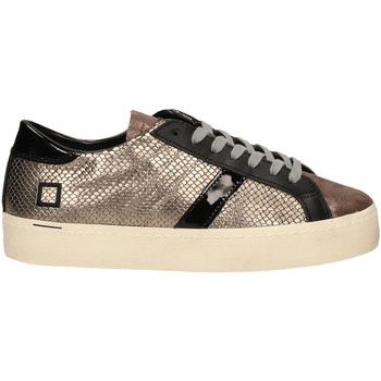 Zapatos Mujer Zapatillas bajas Date HILL DOUBLE ROOF LAMINATED piombo