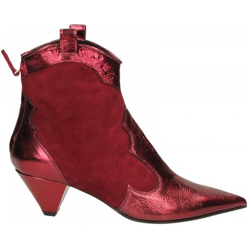 Aldo Castagna BOHEMIA bordeaux - Zapatos Botines Mujer