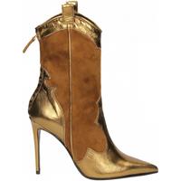 Zapatos Mujer Botines Aldo Castagna BOHEMIA oro-tabacco