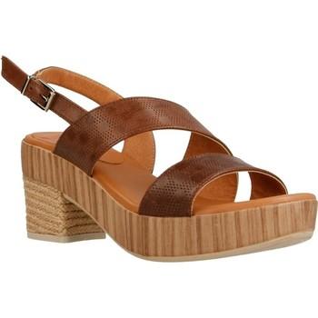 Zapatos Mujer Sandalias Mikaela 17071 Marron