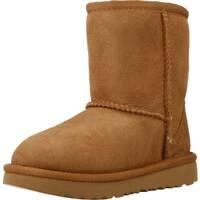 Zapatos Niña Botas de nieve UGG CLASSIC II Marron