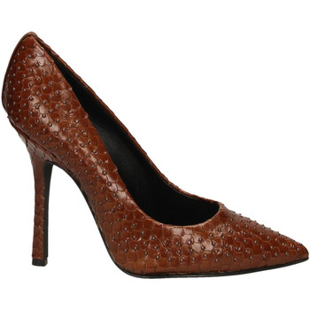 Zapatos Mujer Zapatos de tacón Marc Ellis VIPERA CON BORCHIE BRONZO cuoio