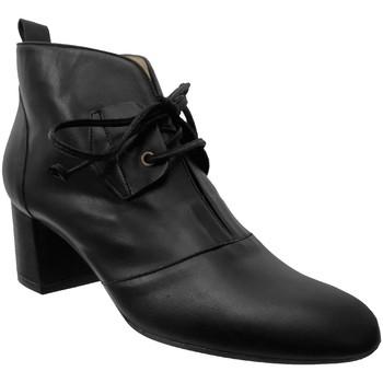 Zapatos Mujer Botines Brenda Zaro F2961 Cuero negro
