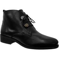Zapatos Mujer Botines Folies Yalla Cuero negro