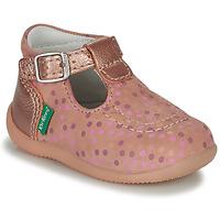 Zapatos Niña Sandalias Kickers BONBEK-3 Rosa / Pois