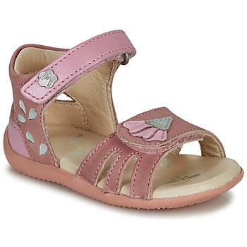 Zapatos Niña Sandalias Kickers BICHETTA Rosa