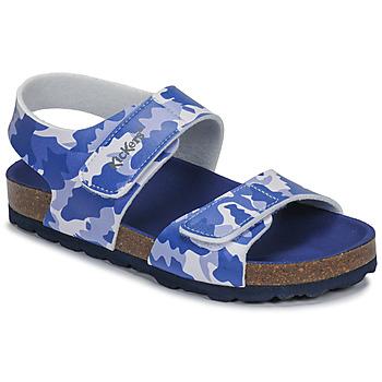 Zapatos Niño Sandalias Kickers SUMMERKRO Azul