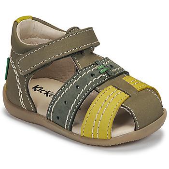 Zapatos Niños Sandalias Kickers BIGBAZAR-3 Verde
