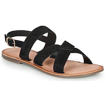 Zapatos Mujer Sandalias Kickers DIBA-3 Negro