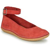 Zapatos Mujer Bailarinas-manoletinas Kickers HONNORA Rojo