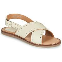 Zapatos Mujer Sandalias Kickers KICLA Beige