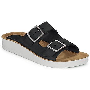 Zapatos Mujer Zuecos (Mules) Kickers OVIDA Negro