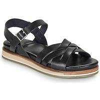 Zapatos Mujer Sandalias Kickers OLIMPIK Negro