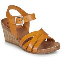 Zapatos Mujer Sandalias Kickers SOLYNA Camel